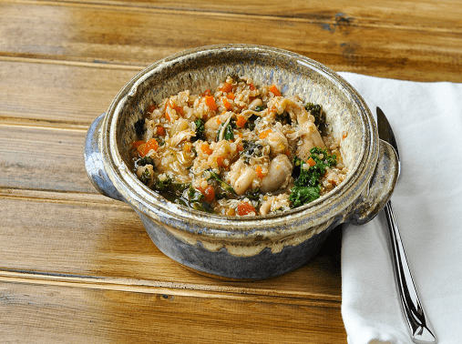 Chicken and Vegetable Quinoa Pilaf