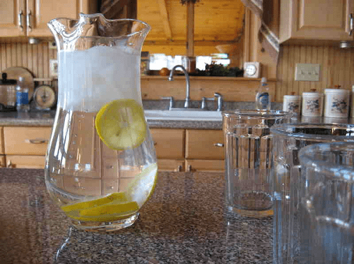 Lemon Water Pitcher