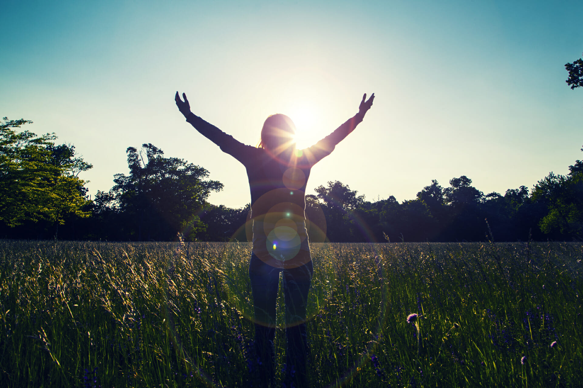 feeling radiant